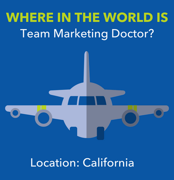 Where In The World Is Team Marketing Doctor? Location: California
